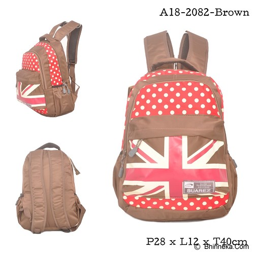 YOUNG SOUL Ransel [A18-2082] - Brown - Backpack Wanita